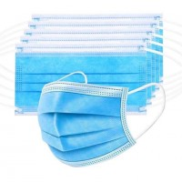 Surgical Mask with nosepin - 25PCS